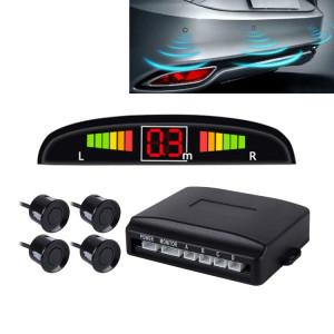 Système de radar de secours inversé de sonnerie de voiture Qualité supérieure 4 Capteurs de stationnement Système de radar de secours inversé de voiture avec écran LCD SH45602-20
