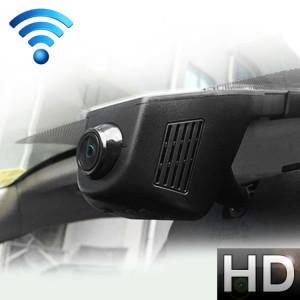 Voiture DVR double caméra WiFi moniteur Full HD 1080P conduite enregistreur vidéo Dash Cam, détection de mouvement de vision nocturne SH4574607-20