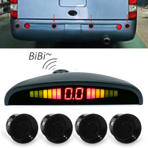 Enregistreur de voiture de miroir de vue arrière d'affichage de forme de croissant de Digital LED pour le camion avec 4 radar arrière SH5164796-20
