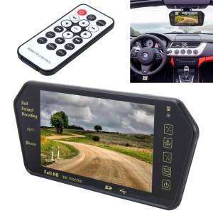 Moniteur de voiture couleur TFT-LCD de 7 pouces 480 * 234 avec vue arrière et lecteur Bluetooth MP5 SH51731704-20