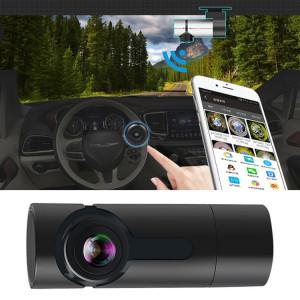 G6 DVR de voiture vidéo Full HD 1080P grand angle 170 degrés, prise en charge de la carte TF / WIFI / enregistrement en boucle, avec fonction de vision nocturne Starlight (noir) SH881B390-20