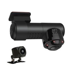 G9 170 degrés grand angle DVR de voiture vidéo Full HD 2160P, prise en charge de la carte TF / WIFI / enregistrement en boucle, avec fonction de vision nocturne infrarouge (noir) SH882B1111-20