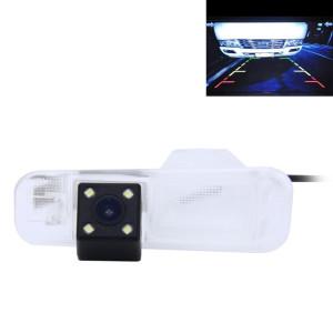 720 × 540 efficace Pixel PAL 50HZ / NTSC 60HZ CMOS II Caméra de recul étanche Vue arrière de voiture avec 4 lampes LED pour la version 2011/2012/2015 KIA K2 à trois compartiments SH629C992-20