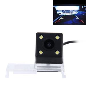 720 × 540 efficace Pixel PAL 50HZ / NTSC 60HZ CMOS II Caméra de recul étanche Vue arrière de voiture avec 4 lampes LED pour la version 2013-2015 CITROEN Elysée SH629D1876-20