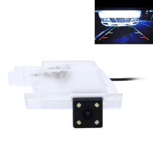 720 × 540 efficace Pixel PAL 50HZ / NTSC 60HZ CMOS II Caméra de recul étanche Vue arrière de voiture avec 4 lampes LED pour la version 2014/2016 PEUGEOT 301 SH629G956-20