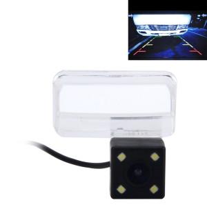 720 × 540 Pixel efficace PAL 50HZ / NTSC 60HZ CMOS II Caméra de recul étanche Vue arrière de voiture avec 4 lampes LED pour la version 2014-2016 Toyota YARiS L SH629P919-20