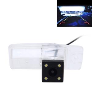 720 × 540 efficace Pixel PAL 50HZ / NTSC 60HZ CMOS II Caméra de recul étanche Vue arrière de voiture avec 4 lampes à LED pour 2014-2016 Version X-Trail SH629Q1141-20