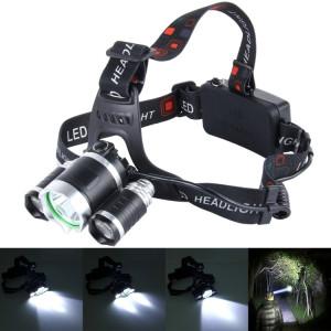 Phare à LED haute puissance, phare lumineux, 3 CREE T6 avec chargeur, sans piles SH6780725-20