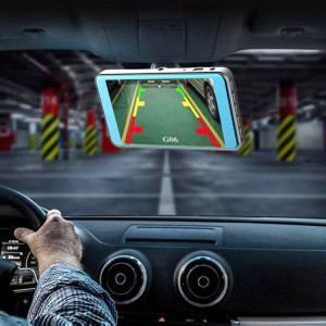 X96 4 pouces 2.5D Full HD 1080P Multifonctionnel Voiture Intelligente Double Lentille Enregistrement Vidéo Caméra Support TF Carte / Détection de Mouvement SH7420133-20
