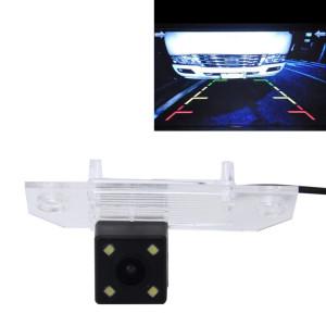 720 × 540 efficace Pixel PAL 50HZ / NTSC 60HZ CMOS II Caméra de recul étanche Vue arrière de voiture avec 4 lampes LED pour 2010-2013 Version Fox Sedan SH83401518-20