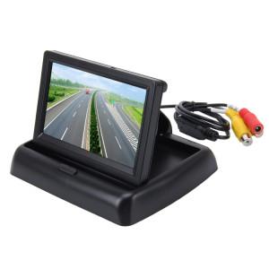 Moniteur pliable de haute définition de voiture d'affichage à cristaux liquides de TFT de 4,3 pouces, fonction automatique d'écran d'inversion de soutien SH8482970-20