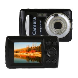 1280x720P HD 4X Zoom numérique 16.0 MP caméscope numérique avec écran TFT de 2,4 pouces (noir) SH736B1344-20