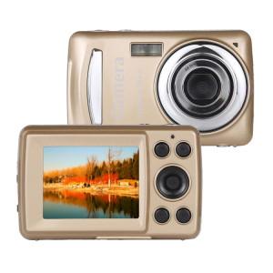 Caméscope numérique avec zoom numérique 480 MP HD 12X 1280x720P et écran TFT de 2,4 pouces (or) SH736J754-20
