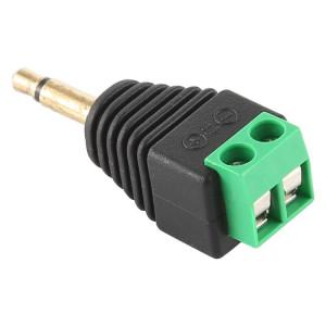 Connecteur audio stéréo pour bornier mâle de 3,5 mm à prise mâle 2 pôles 2 SH0904887-20