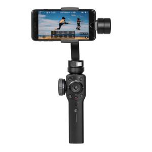 Stabilisateur de cardan portable 3 axes Zhiyun Smooth 4 pour iPhone XR, X / XS, 8 Plus et 7 Plus, 8 et 7, Galaxy S9 / S8 / S7 et autres téléphones intelligents (Noir) SH274B1249-20