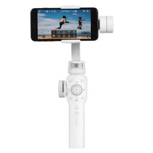 Stabilisateur de cardan portable 3 axes Zhiyun Smooth 4 pour iPhone XR, X / XS, 8 Plus et 7 Plus, 8 et 7, Galaxy S9 / S8 / S7 et autres téléphones intelligents (Blanc) SH274W2-20