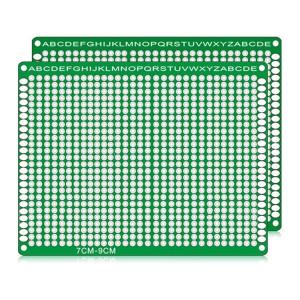 2 PCS LandaTianrui LDTR WG032 / D3 panneau de prototype de carte PCB de planche à pain de fibre de verre double-face, taille: 7 x 9cm S217101239-20
