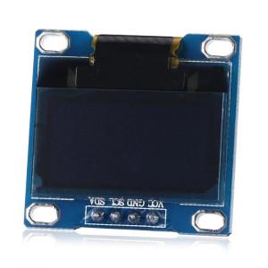 Landa Tianrui LDTR WG0120 0,96 pouces Résolution 128x64 I2C Interface OLED Module d'affichage pour Arduino, écran d'affichage Couleur de la police: Bleu SL1714564-20