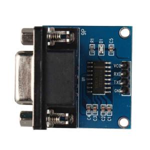 LDTR WG0002 RS232 Port série vers module de communication convertisseur TTL Bleu avec câble Dupont SL32051753-20