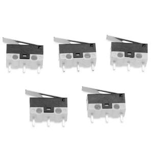 Interrupteur de fin de course mécanique de l'imprimante 5 PCS 3D avec bouton poussoir SH5002986-20