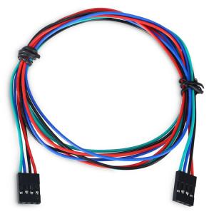 LDTR YJ028 / C Câble de raccordement femelle à femelle à 4 broches pour imprimante Arduino / 3D, longueur de câble: 70cm SH50241455-20