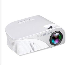RD-805B 960 * 640 1200 Lumens Portable Mini Projecteur LED Home Theater avec télécommande, support USB + VGA + HDMI + AV + TV (Blanc) SH902W1665-20