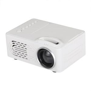 MG300 600 Projecteur LED de cinéma maison 1920x1080 avec télécommande, support AV et USB & TF (blanc) SH918W614-20
