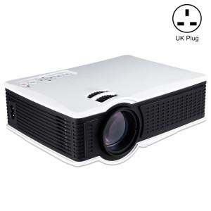 LY-40 1800 Projecteurs LED 1280x800 Home Cinéma avec télécommande, support AV et USB & VGA et HDMI (blanc) SH919W537-20