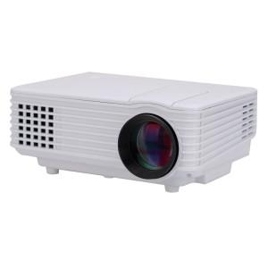RD-805 800LM 800x480 Projecteur LED de cinéma maison avec télécommande, prise en charge des interfaces HDMI, VGA, AV et USB (blanc) SH361W1653-20