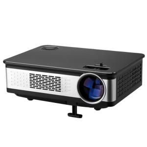 Projecteur Wejoy L2 300ANSI Lumens 5,8 pouces Technologie HD 1280 * 768 pixels avec télécommande, VGA, HDMI (Noir) SH423B351-20