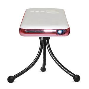 Mini projecteur intelligent Wejoy DL-S6 + 1000 lumens 854x480, processeur RK3128, 1 Go + 32 Go, Android 4.4, Bluetooth, WiFi, HDMI (or rose) SH34RG1246-20