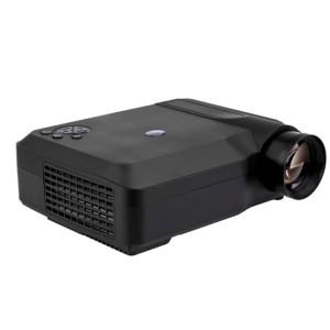 Projecteur Wejoy L3 300ANSI Lumens 5,8 pouces Technologie HD 1280 * 768 pixels avec télécommande, VGA, HDMI (Noir) SH455B1169-20