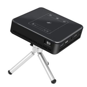 Mini projecteur intelligent Wejoy DL-S10 120ANSI Lumens 854x480, CPU RK3328 ARM Cortex-A53 Processeur 1,5 GHz, 2 Go + 16 Go, Android 7.1.2, Bluetooth, WiFi, HDMI (noir) SH469B1066-20