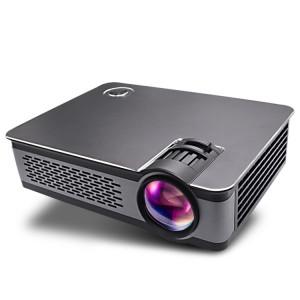 Wejoy L5 Home Cinéma Optique Keystone Réglable Full HD 1080P LED LCD Vidéo Projecteur avec Télécommande (Noir) SH606B1715-20