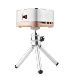P07-D Mini Projecteur LED Bluetooth Home Cinéma 50 Lumens avec Télécommande, Micro SD & Micro USB & WiFi & Sortie Audio SH6931142-20