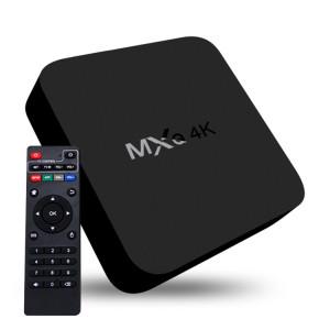 MXQ 4K Full HD Media Player RK3229 Quad Core KODI Android 4.4 TV Box avec télécommande, RAM: 1 Go, ROM: 8 Go, HDMI, WiFi, Miracast, DLNA (noir) SH005344-20