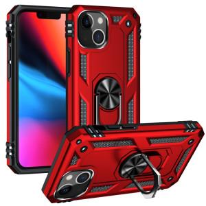 Étui de protection TPU + PC TPU + PC avec porte tournant à 360 degrés pour iPhone 13 (rouge) SH802B1474-20
