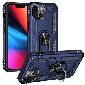 Étui de protection TPU + PC antichoc avec porte-tournage à 360 degrés pour iPhone 13 (bleu) SH802D1809-20