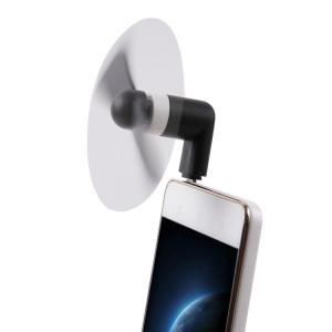 Port USB Type 3.1 Mini Port Ventilateur avec deux feuilles, pour téléphones mobiles avec fonction OTG (Noir) SP600B894-20