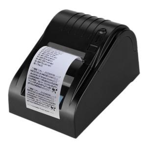 Imprimante de reçu thermique portable de 90 mm / sec POS-5890T, commande compatible ESC / POS (noir) SH003B1757-20