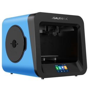 Plaque de métal de haute précision de bureau JGAURORA A4 + cadre de moulage par injection 3D Imprimante 3D physique de grande dimension (bleu) SH052L1262-20