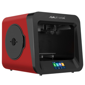 Plaque métallique de haute précision de bureau JGAURORA A4 + cadre de moulage par injection 3D Imprimante physique 3D tridimensionnelle (rouge) SH052R974-20