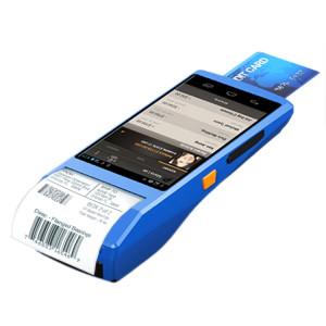 Écran IPS multi-fonction 5,5 pouces IPS Protection IP65 Terminal intelligent tout-en-un IP65, imprimante et micro à ligne thermique intégrée et haut-parleur, support WiFi & Bluetooth et GPS (bleu) SH234L271-20