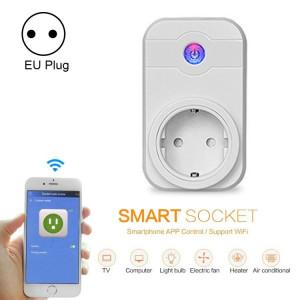 Alexa SWA1 10A Home Automation Sans Fil Smart WiFi Socket, Soutien Smartphone Télécommande et Interrupteur de Minuterie, UE Plug SA235A1235-20