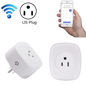 Meross MSS210 Télécommande WiFi Smart Power Socket Fonctionne avec Amazon Alexa & Assistant Google, AC 100-120V, US Plug (Blanc) SM02WD1531-20