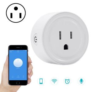 V01 10A Mini prise WiFi synchronisation Smart Socket fonctionne avec Alexa et Google Home, AC 100-240 V, prise américaine SV80WD677-20
