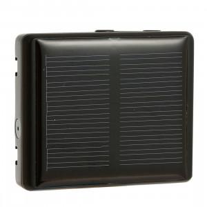 REACHFAR RF-V26 Puissance Solaire Étanche IP66 Anti-Suppression GSM Smart GPS Tracker pour Mouton Bovin Animal (Noir) SR324B1117-20