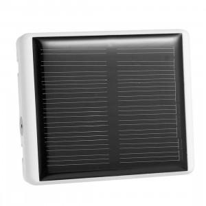 REACHFAR RF-V26 Puissance Solaire Étanche IP66 Anti-Suppression GSM Smart GPS Tracker pour Mouton Bovin Animal (Blanc) SR324W63-20