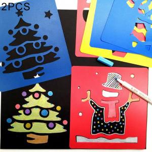 2 ensembles (6 PCS / Set) enfants en plastique peinture dessin gabarit gabarit jouet pour enfants, livraison de style aléatoire SH369041-20