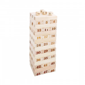 48 PCS Blocs de construction en bois SH70131197-20